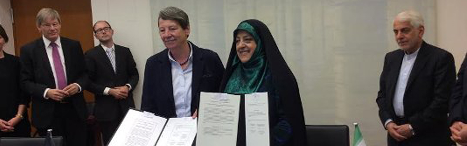Ebtekar in Germany seeking environmental aid